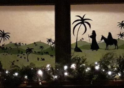 Fenster der Freude erstrahlen in Dahl